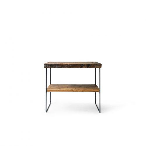 Vintage Solid Wood Counter Table/ヴィンテージ 一枚板 カウンターテーブル デスク 作業台 インダストリアル