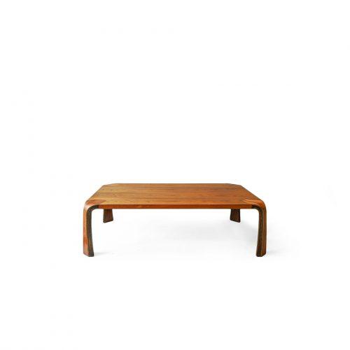"Vintage Tendo Mokko ""Zataku"" Rosewood Low Table/天童木工 座卓 ローズウッド 乾三郎デザイン ジャパニーズモダン"