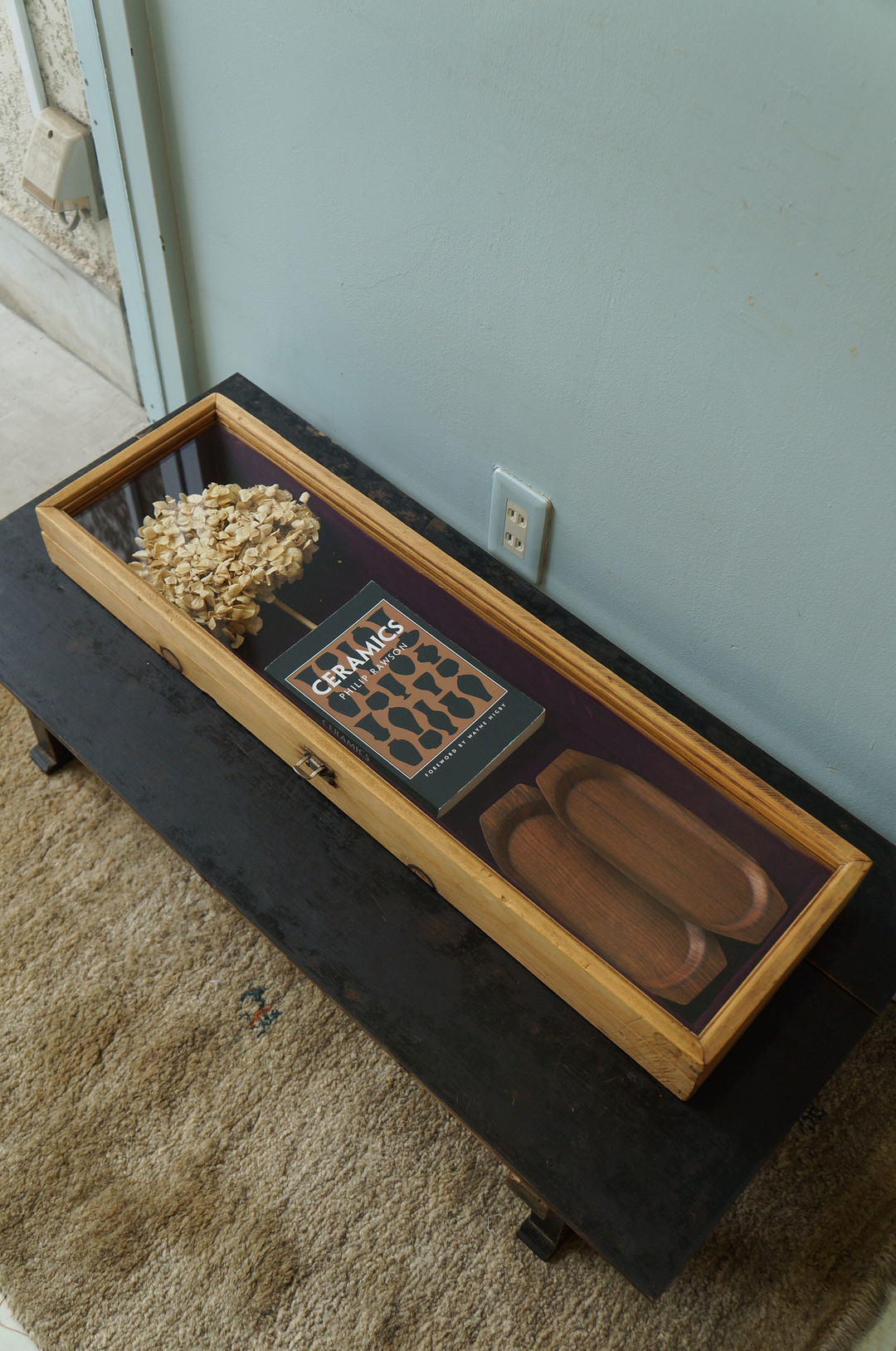 Vintage Wooden Display Case/ヴィンテージ ディスプレイケース インテリア シャビーシック ナチュラル 古道具 大