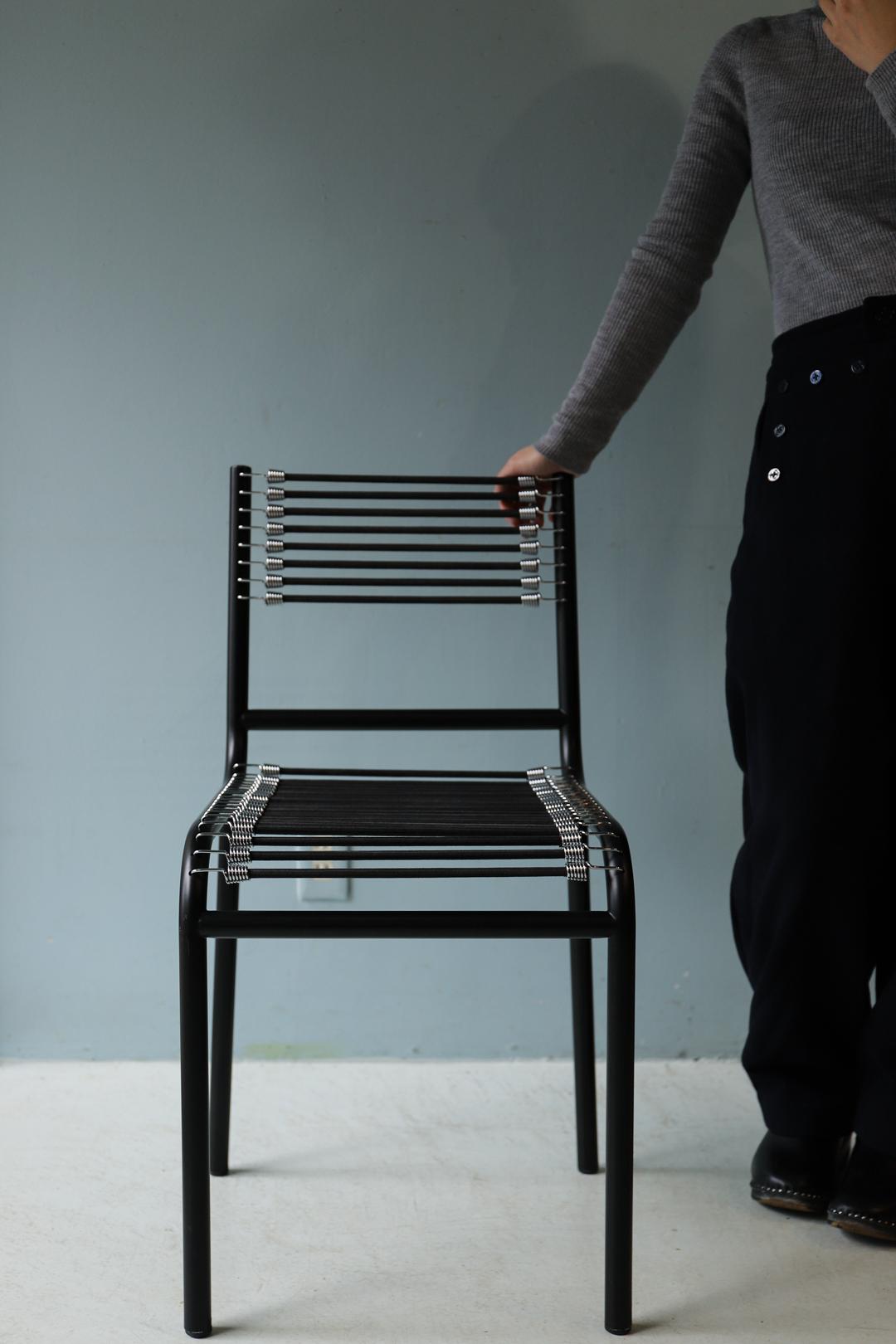 René Herbst Sandows Chair/ルネ・エルブスト サンドウズチェア ダイニングチェア 椅子 ブラック モダンデザイン