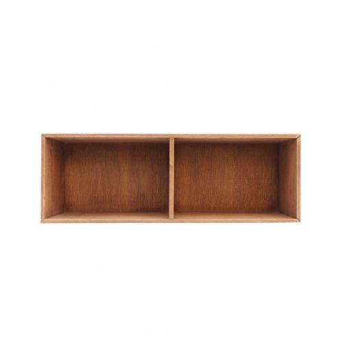 Japanese Vintage Wooden Box Shelf/ジャパンヴィンテージ ボックスシェルフ 木箱 収納ボックス レトロ シャビー 小 2