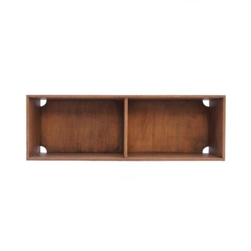Japanese Vintage Wooden Box Shelf/ジャパンヴィンテージ ボックスシェルフ 木箱 収納ボックス レトロ シャビー 大 8