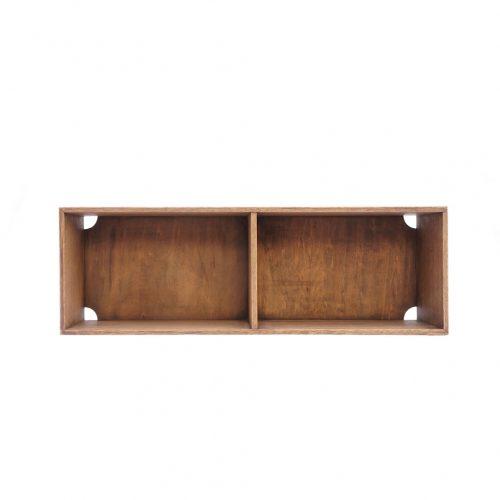 Japanese Vintage Wooden Box Shelf/ジャパンヴィンテージ ボックスシェルフ 木箱 収納ボックス レトロ シャビー 大 10