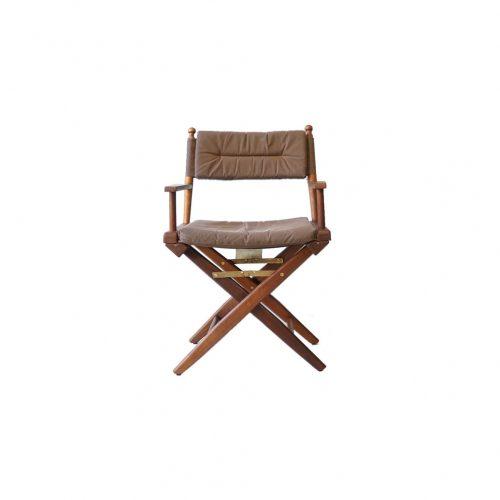 Wooden Director's Chair/ディレクターズチェア 折りたたみ 椅子 USモダン アウトドア 1