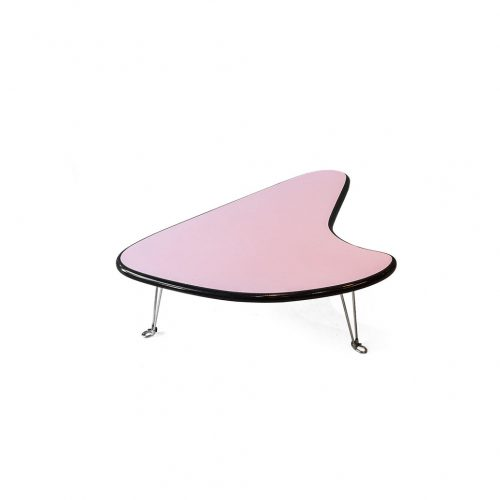 Mid Century Vintage Style Boomerang Coffee Table/アトミック ブーメラン ヴィンテージ コーヒーテーブル クリームソーダ ロカビリー