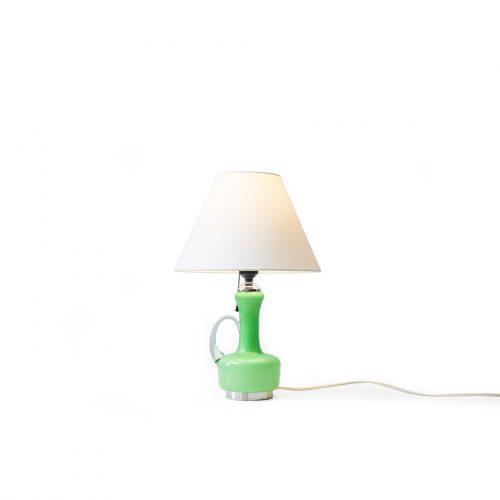 Japanese Vintage Table Lamp Glass Vase/ジャパンヴィンテージ テーブルランプ 照明 ガラスベース 昭和レトロモダン
