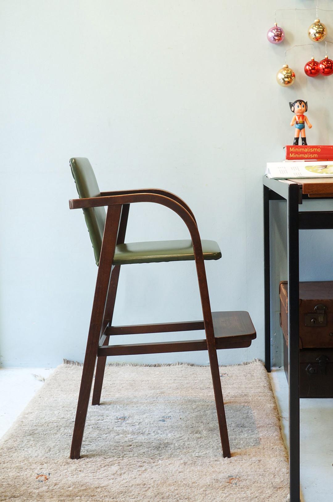 Akita Mokko Baby Chair No.42/秋田木工 ベビーチェア 子供椅子 レトロ ジャパニーズモダン 曲木