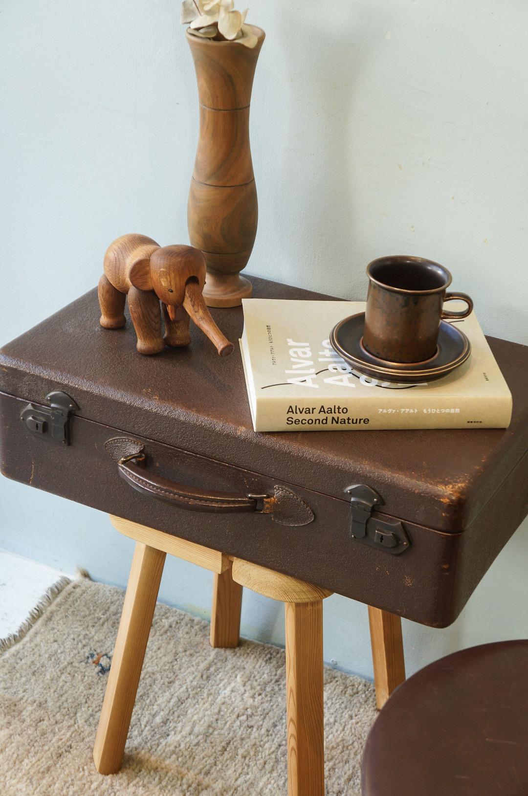 Antique Trunk Case/アンティーク トランク スーツケース 収納 古道具 インテリア 1
