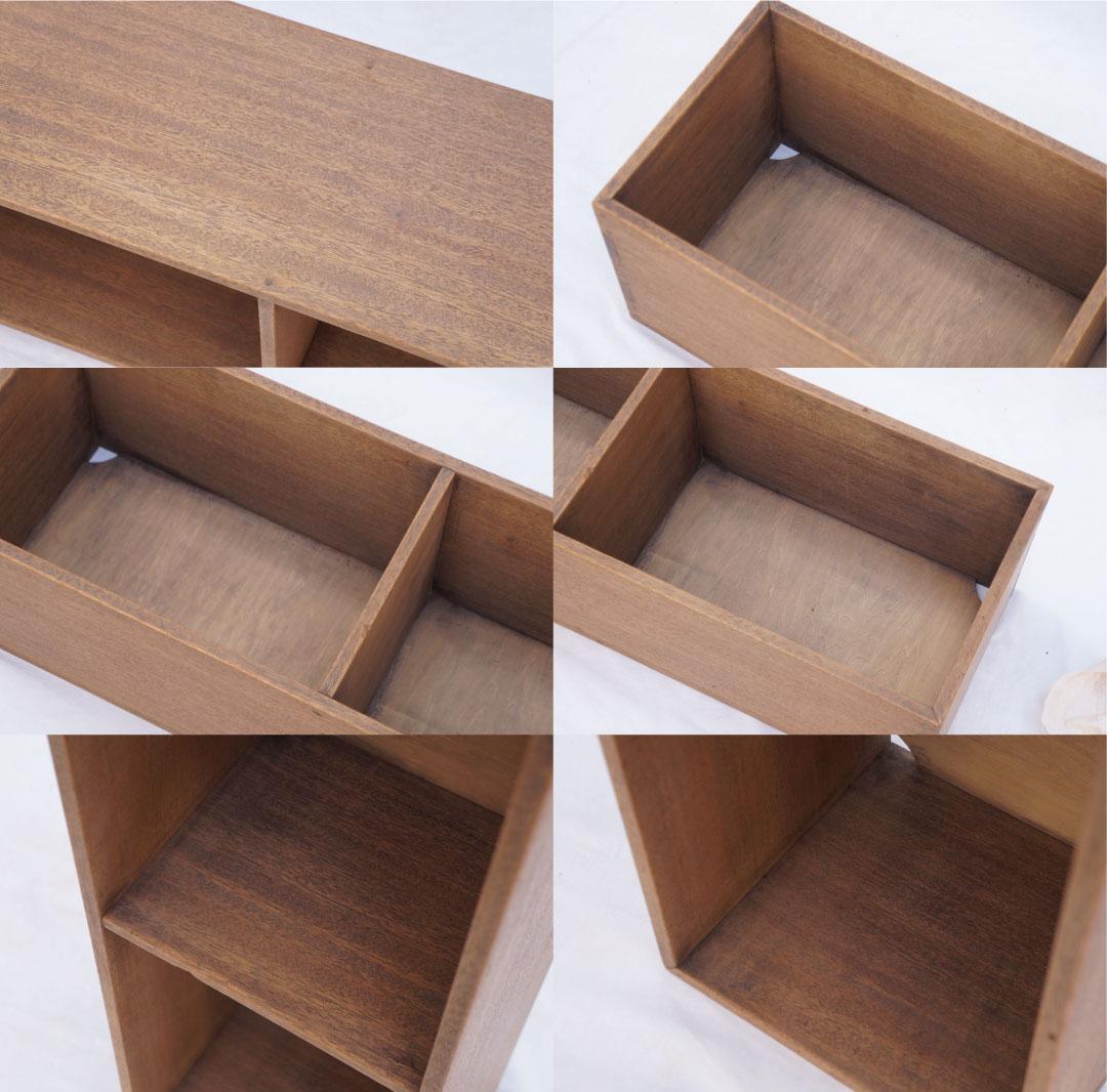 Japanese Vintage Wooden Box Shelf/ジャパンヴィンテージ ボックスシェルフ 木箱 収納ボックス レトロ シャビー 大 9