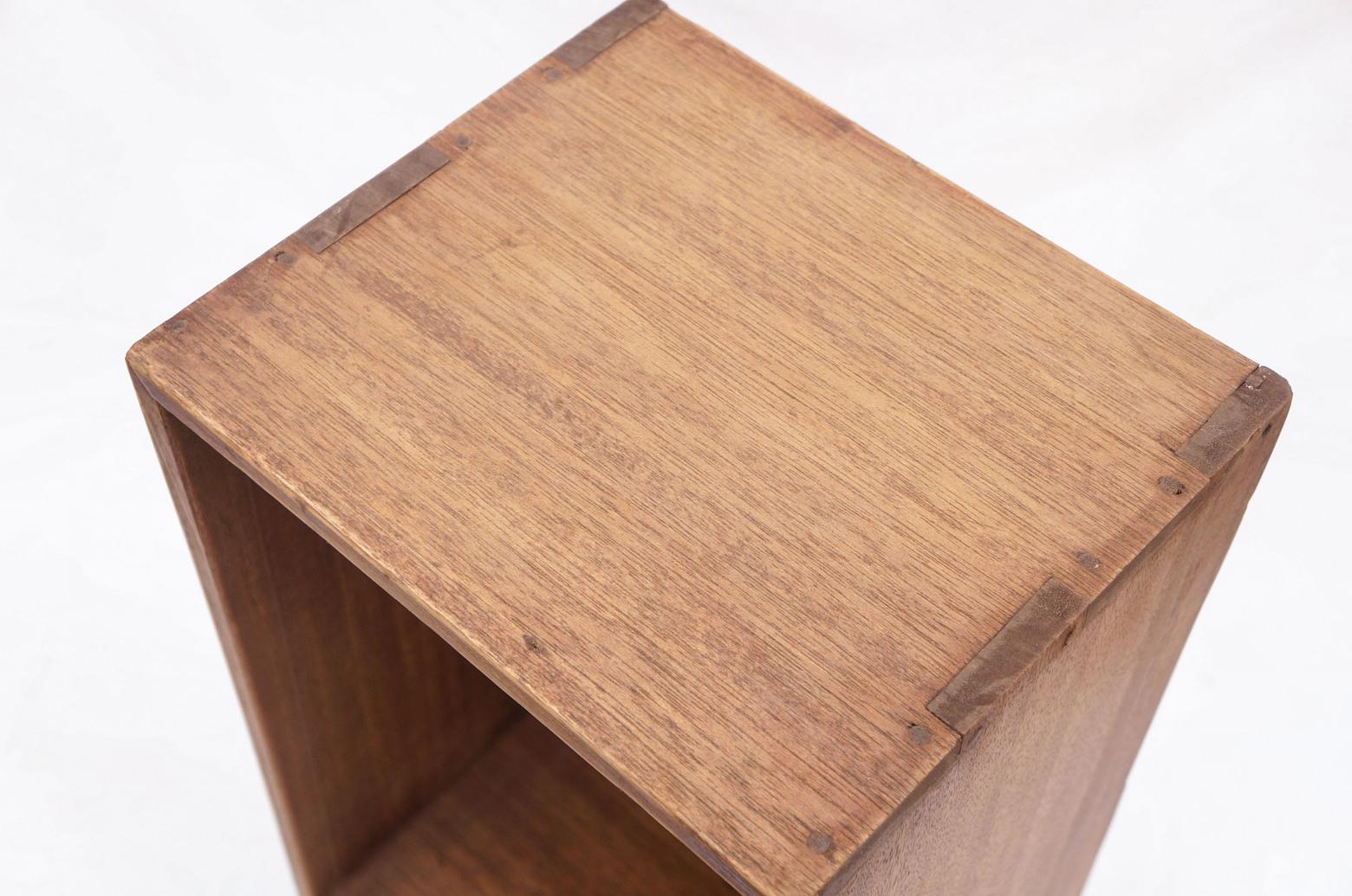 Japanese Vintage Wooden Box Shelf/ジャパンヴィンテージ ボックスシェルフ 木箱 収納ボックス レトロ シャビー 小 7