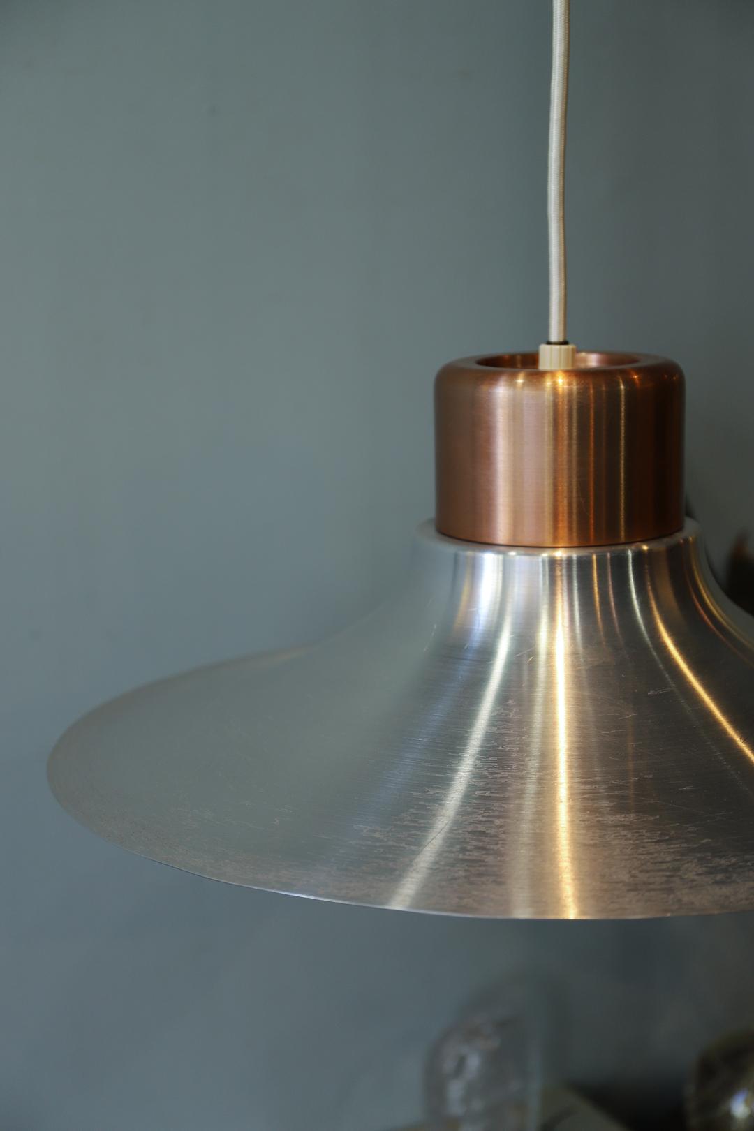 Japanese Vintage Mid century design Pendant Light/ミッドセンチュリーデザイン ペンダントライト アルミシェード ボール レトロ ヴィンテージ 照明