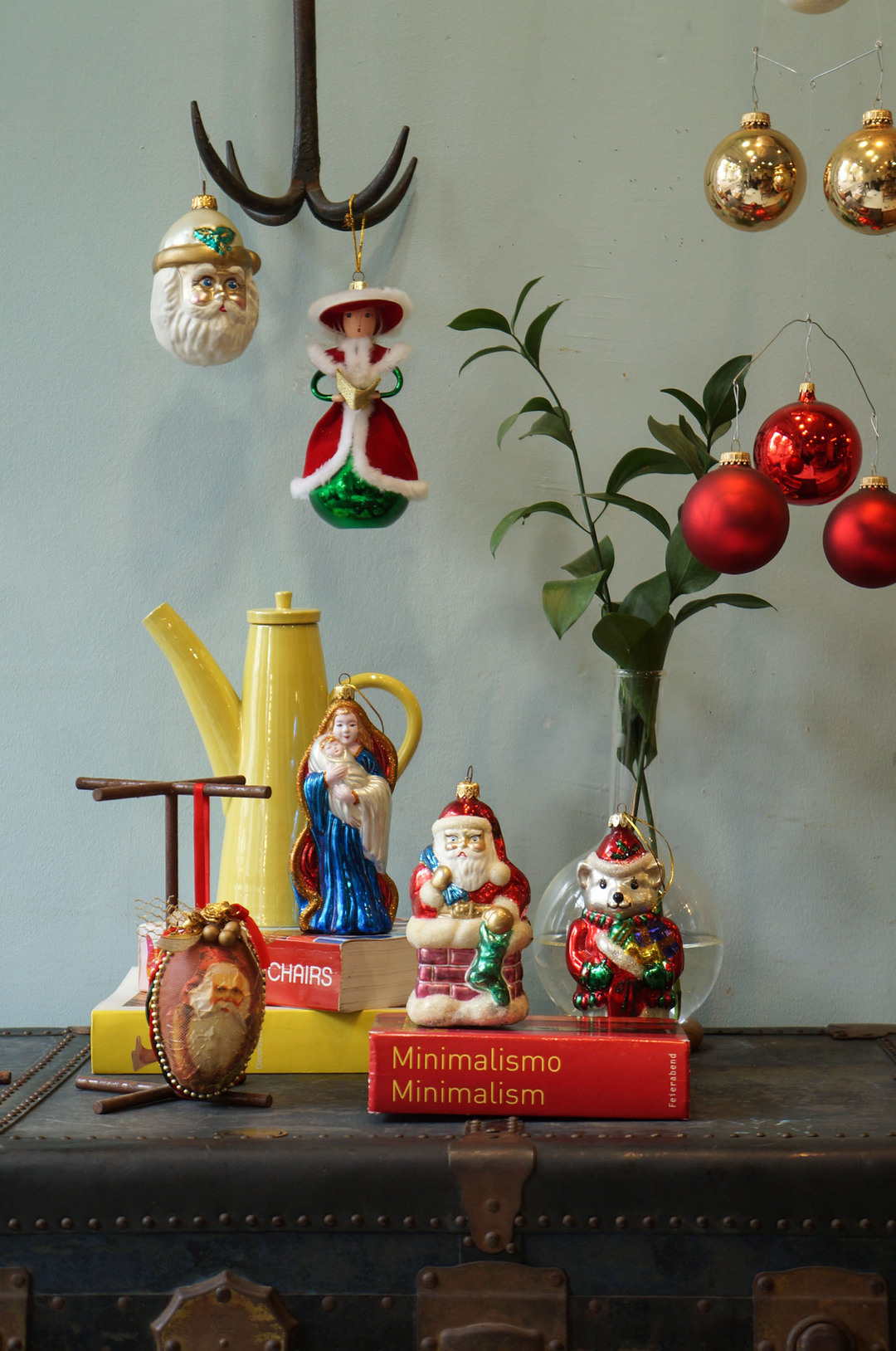 Vintage Blown Glass Christmas Ornament/ヴィンテージ クリスマス オーナメント 吹きガラス レトロ