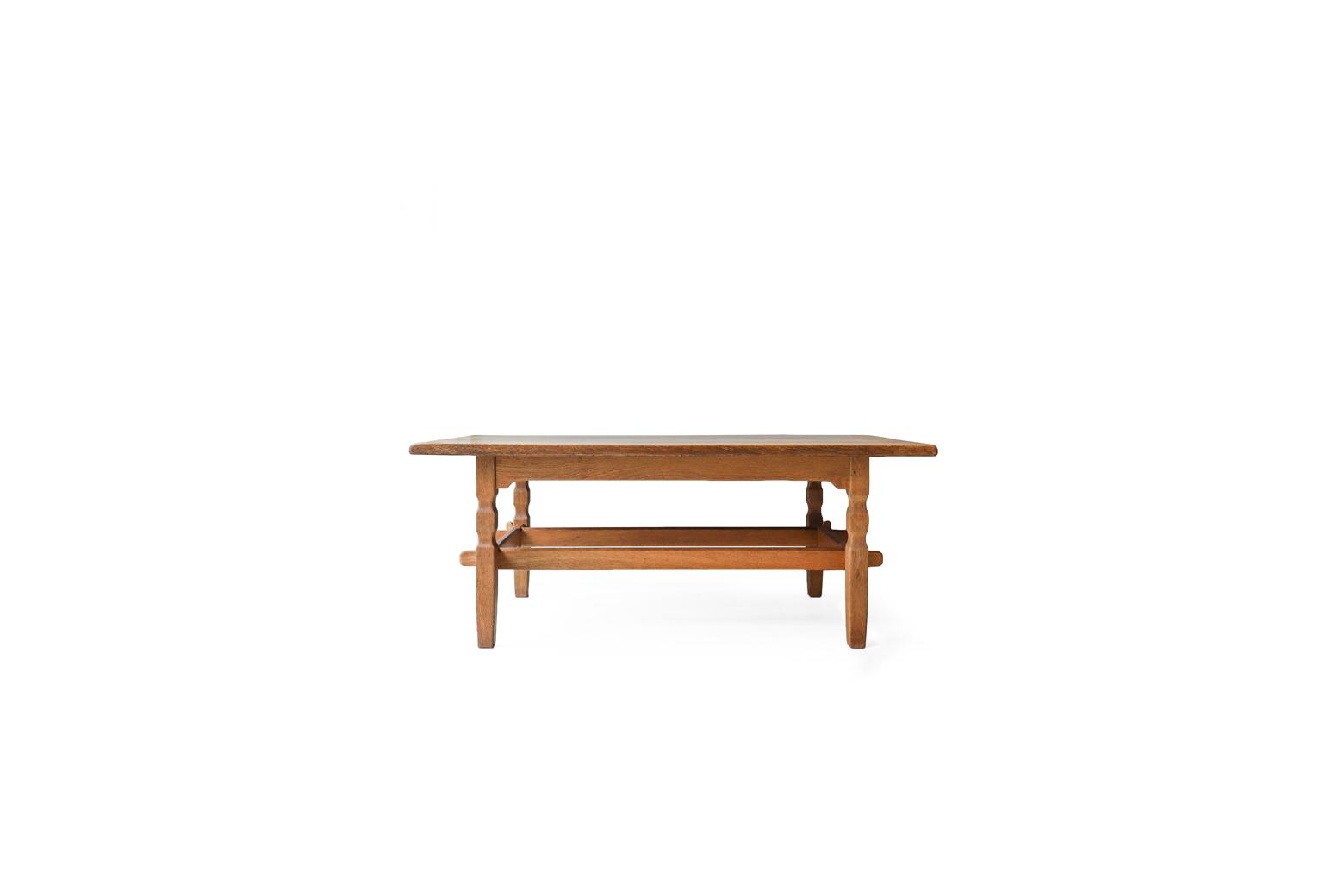 Denmark Vintage Center Table by Henning Kjaernulf  for EG KVALITETSMØBEL / デンマーク ヴィンテージ センターテーブル ナチュラル 北欧家具