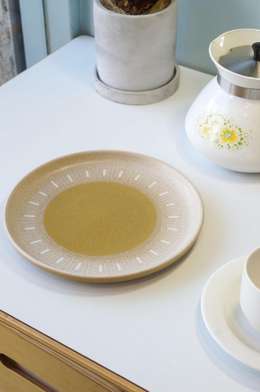 UK Vintage Denby ODE Plate Small/イギリスヴィンテージ デンビー オード プレート 皿 ストーンウェア 食器 小 1