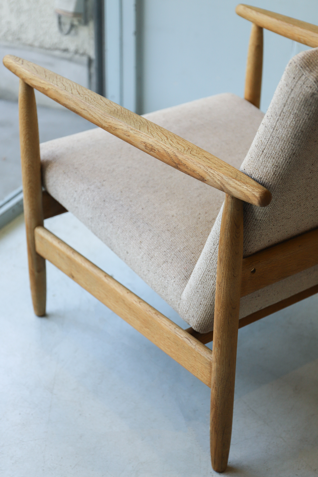 FDB Møbler Easy Chair Model J-65 by Ejvind A.Johansson/デンマークヴィンテージ イージーチェア 1Pソファ アイヴァン・A・ヨハンソン 北欧家具