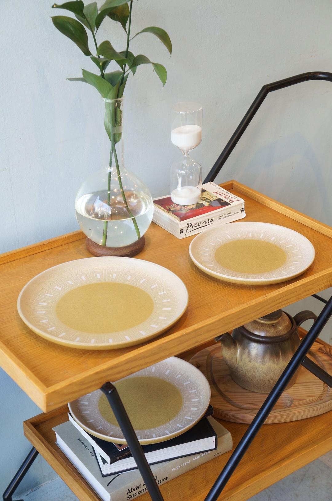 UK Vintage Denby ODE Plate/イギリスヴィンテージ デンビー オード プレート 皿 ストーンウェア 食器