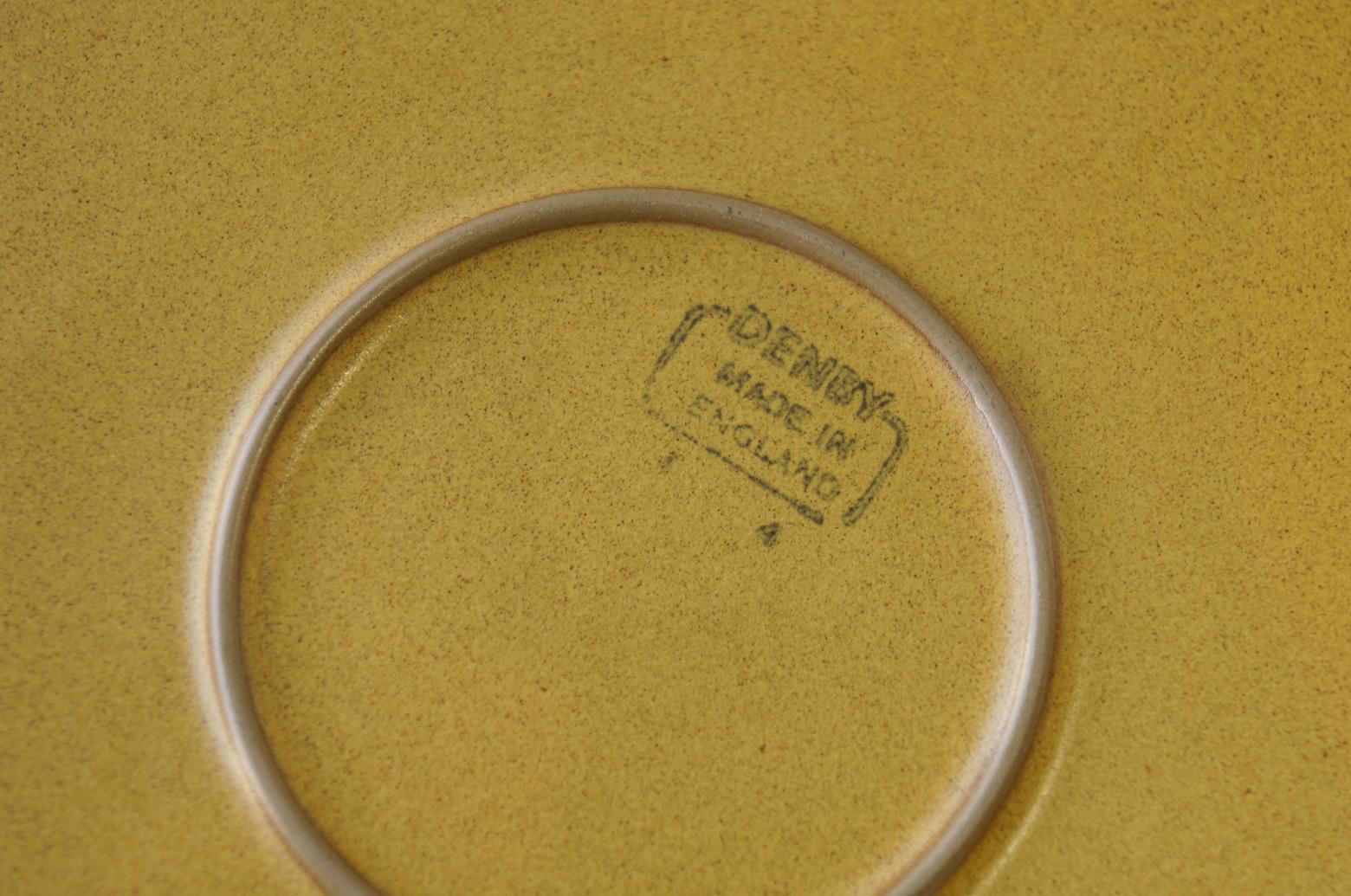 UK Vintage Denby ODE Plate Large/イギリスヴィンテージ デンビー オード プレート 皿 ストーンウェア 食器 大 2