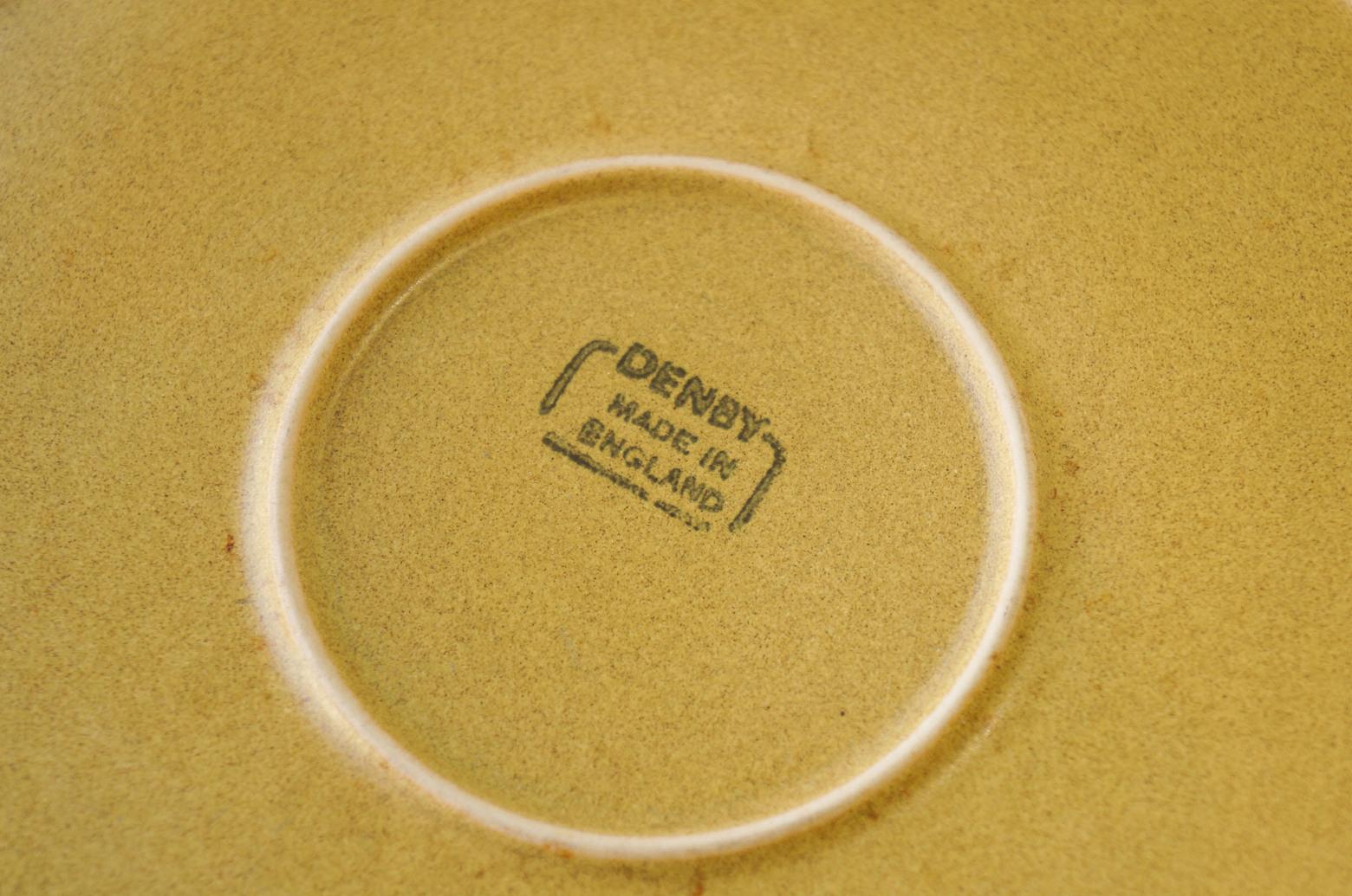 UK Vintage Denby ODE Plate Large/イギリスヴィンテージ デンビー オード プレート 皿 ストーンウェア 食器 大 3
