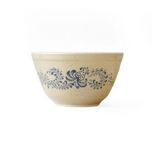 Old PYREX Mixing Bowl Homestead Ssize/オールドパイレックス ミキシングボウル アメリカヴィンテージ 食器 レトロ ホームステッド 1