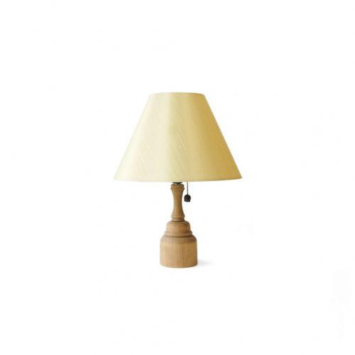 Natural Wooden Table Lamp/木製テーブルランプ 照明 ナチュラル インテリア シャビーシック