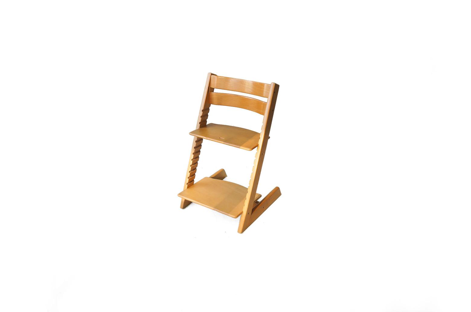 STOKKE TRIPP TRAPP Baby Chair Natural/ストッケ トリップトラップ ベビーチェア ハイチェア ナチュラル 旧型 ベビーガード 北欧デザイン