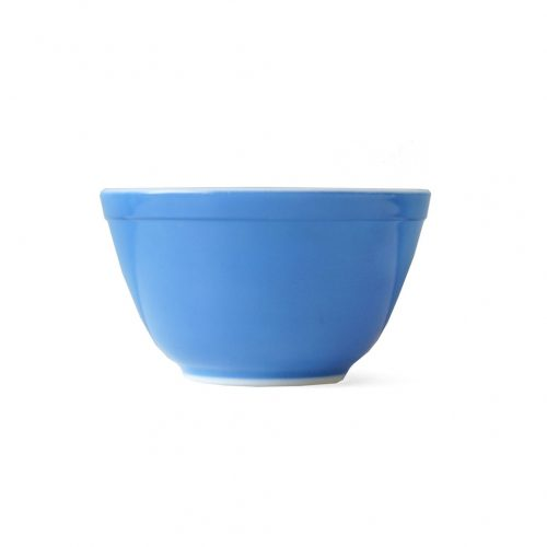 Old PYREX Mixing Bowl Primary Color Blue Ssize/オールドパイレックス ミキシングボウル アメリカヴィンテージ 食器 レトロ プライマリーカラー ブルー