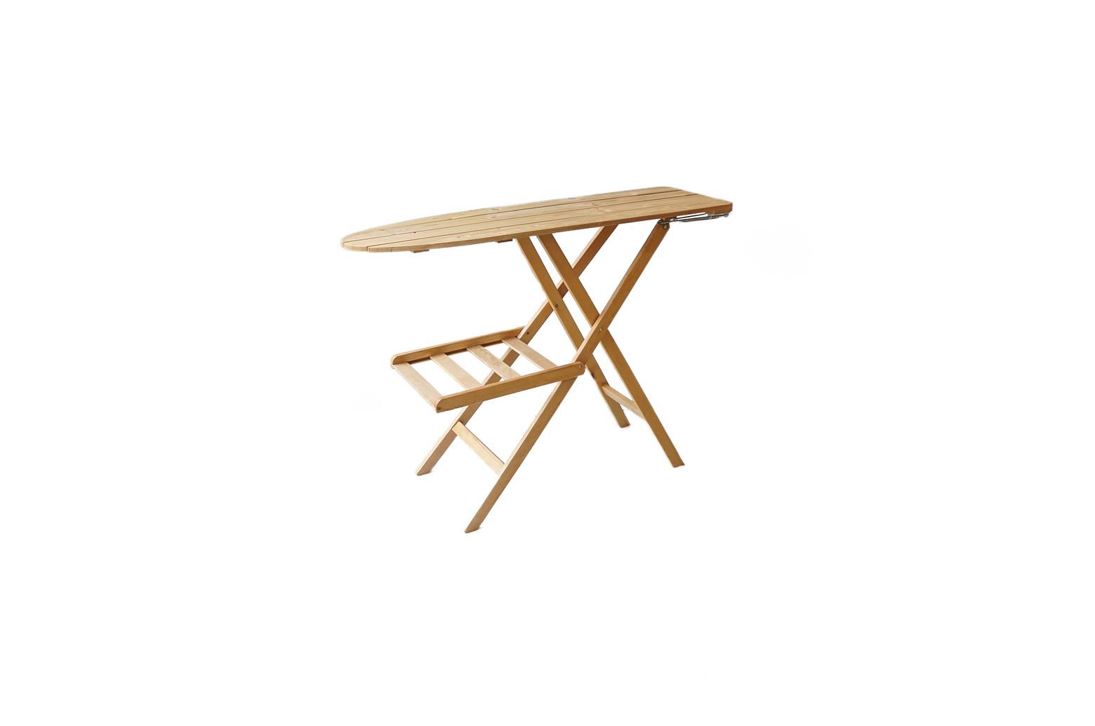 Wooden Ironing Board/木製 アイロン台 テーブル 飾り台 ナチュラル シャビー