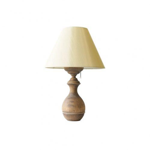 Antique Oakwood Table Lamp/アンティーク テーブルランプ オーク材 間接照明 シャビー インテリア 1