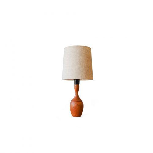 Danish Vintage Teakwood Mini Table Lamp/デンマークヴィンテージ テーブルランプ チーク材 照明 北欧モダン インテリア ナチュラル
