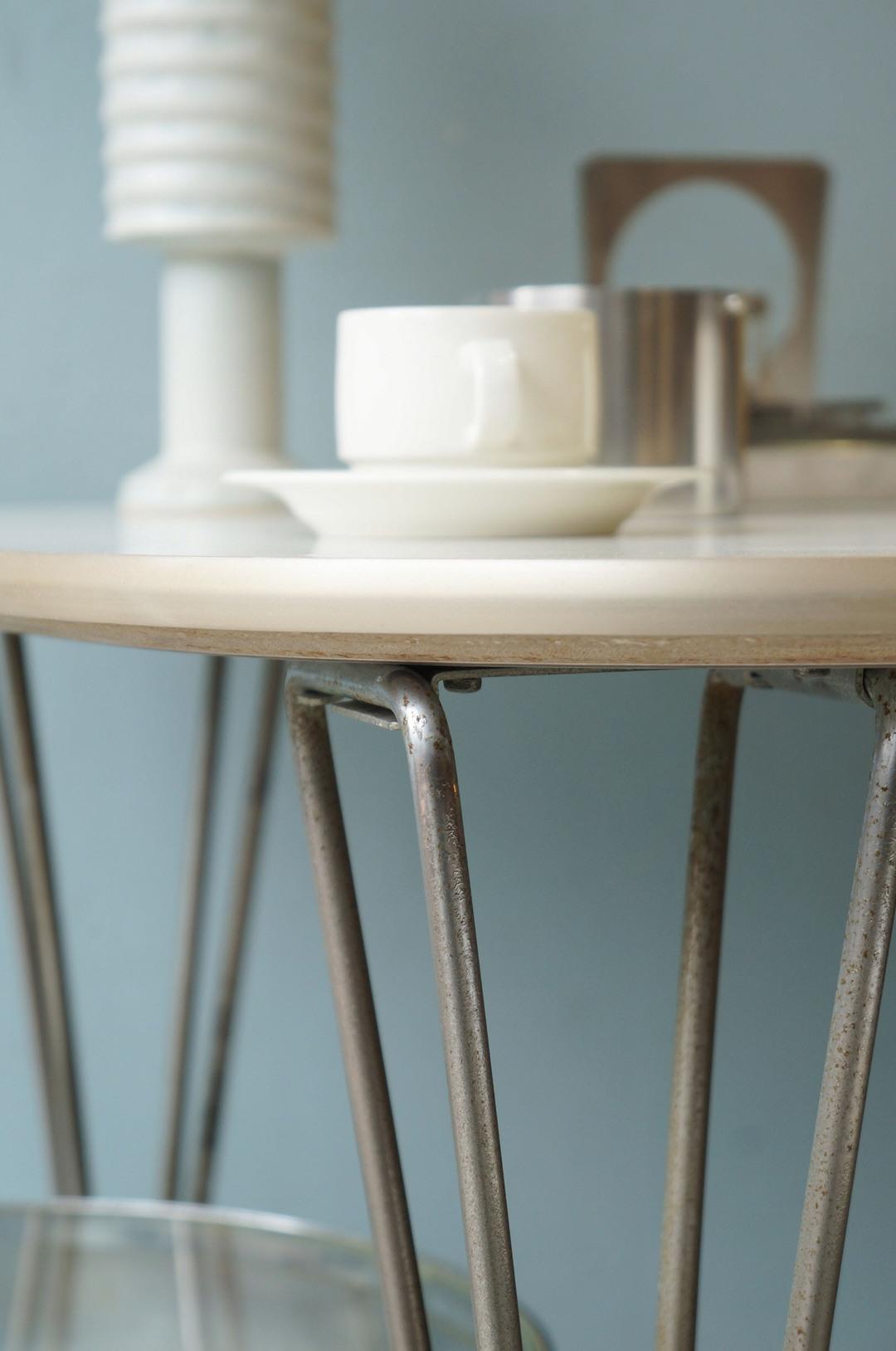 Fritz Hansen Dining Table by Piet Hein 1970's/フリッツハンセン スーパー円テーブル Bテーブル ピート・ハイン 北欧ヴィンテージ 3