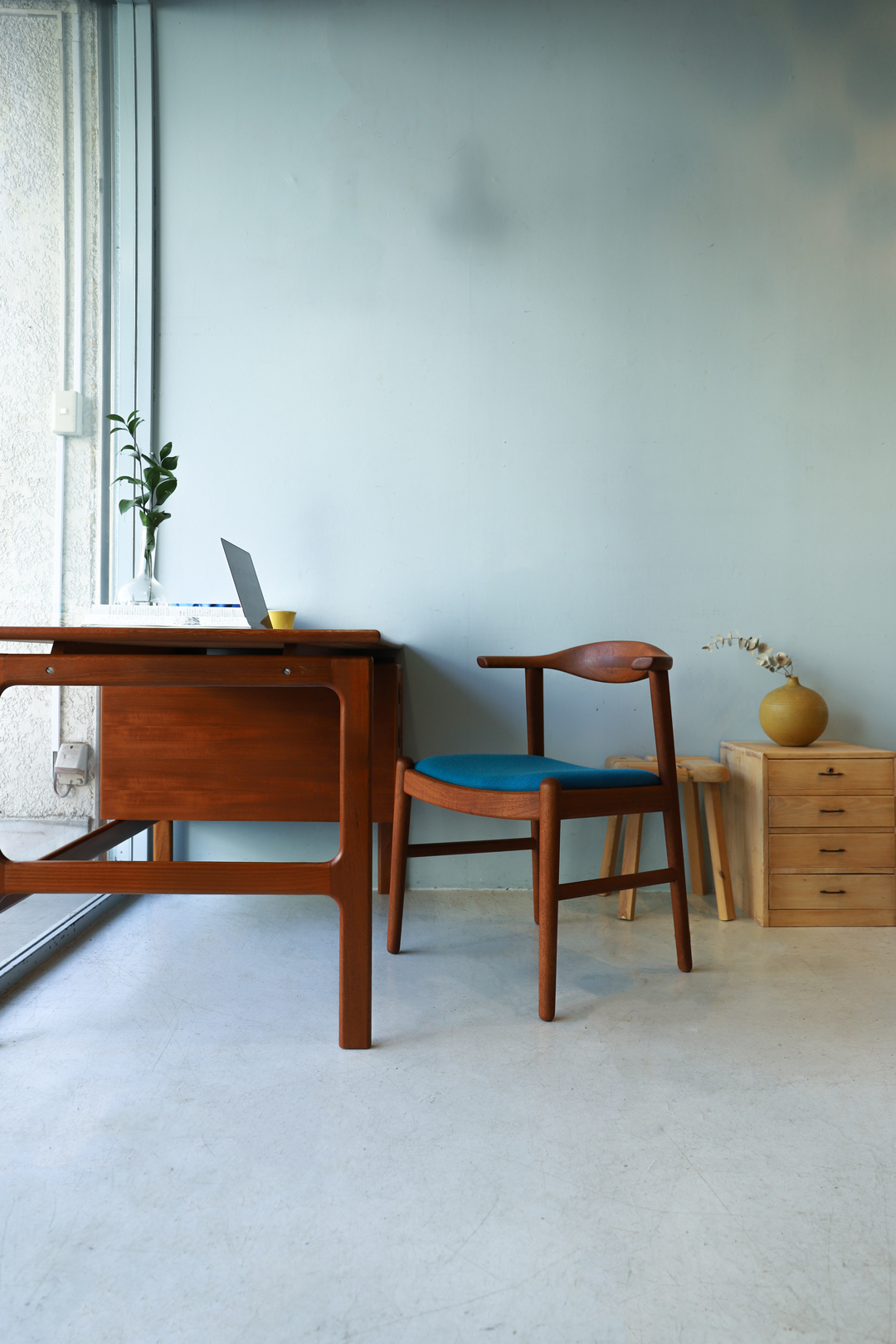 Japanese Vintage Aobayashi Dining Chair/ジャパンヴィンテージ 青林製作所 ダイニングチェア チーク材 椅子 北欧モダン
