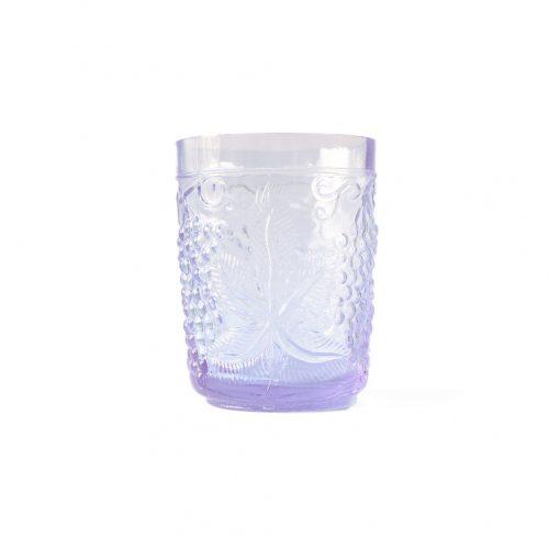US Vintage Depression Glass Tumbler/アメリカヴィンテージ ディプレッションガラス タンブラー グラス レトロ 食器 ネオジムガラス アメジスト 2