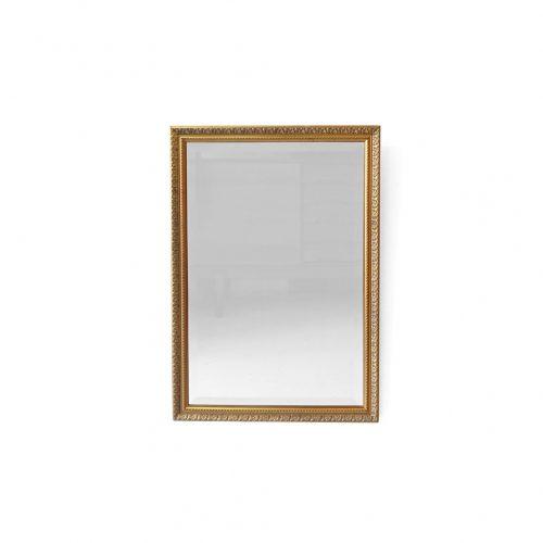 Bevelled Mirror Made in Italy/ウォールミラー イタリア製 壁掛け鏡 レリーフ インテリア