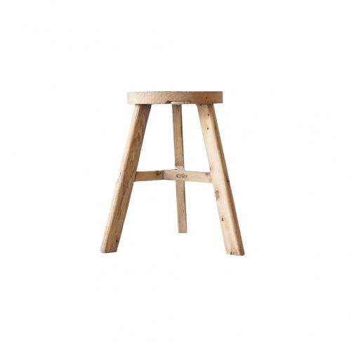 Toolbox Old Elm Wood Stool/ツールボックス 古材 スツール ニレ材 三本脚 椅子 ナチュラル シャビー インダストリアル