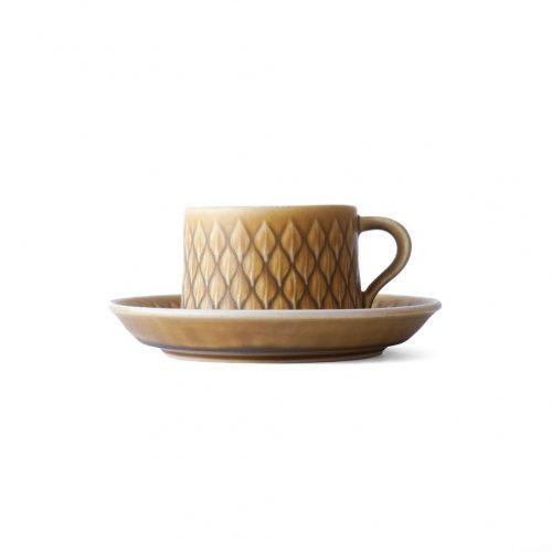 Bing&Grondahl Relief Tea Cup&Saucer Jens H.Quistgaard/ビングオーグレンダール レリーフ ティーカップ&ソーサー イェンス・H・クイストゴー 北欧食器