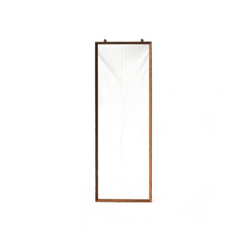 Danish Vintage Wenge Wood Wall Mirror/デンマークヴィンテージ ウォールミラー ウェンジ材 シンプルモダン 北欧デザイン