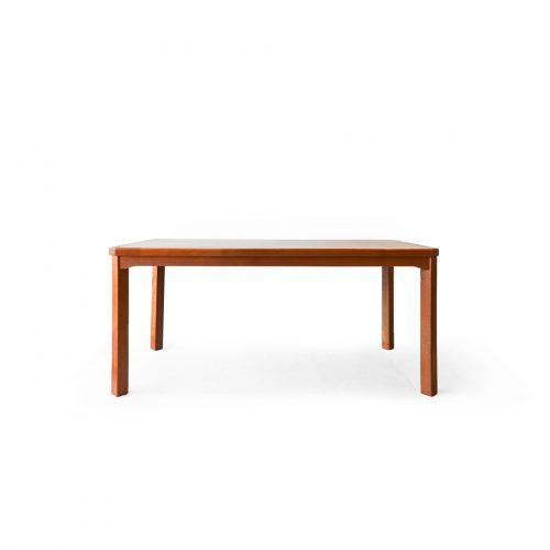 Japanese Vintage Teakwood Dining Table/ジャパンヴィンテージ ダイニングテーブル ソファテーブル チーク材 集成材 北欧モダン
