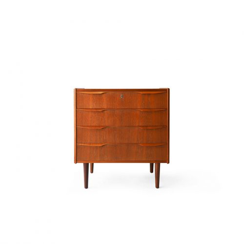 Danish Vintage 4drawers Chest/デンマークヴィンテージ チェスト 4段 チーク材 収納 北欧家具 モダン