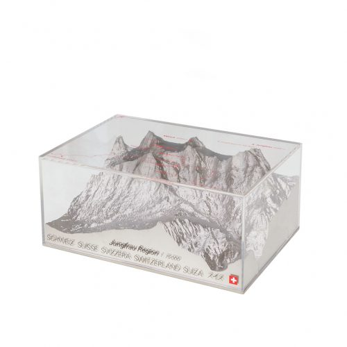 Swiss Reliorama Mountain Diorama Object Jungfrau Region/レリオラマ スイス製 精密山岳模型 ジオラマ 模型 オブジェ インテリア アイガー・メンヒ・ユングフラウ