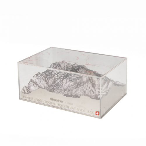 Swiss Reliorama Mountain Diorama Object Matterhorn/レリオラマ スイス製 精密山岳模型 ジオラマ 模型 オブジェ インテリア マッターホルン