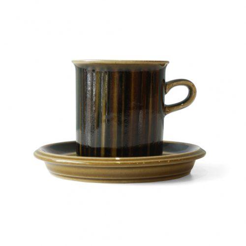 ARABIA Kosmos Coffee Cup and Saucer/アラビア コスモス コーヒーカップ&ソーサー 北欧食器 フィンランドヴィンテージ 1