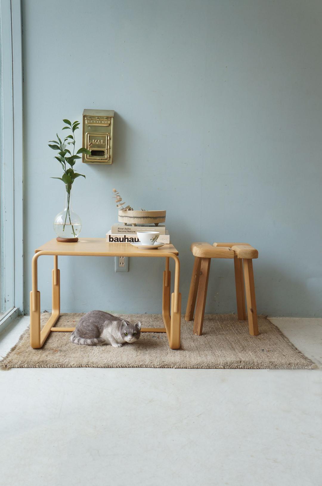 Tendo Side Table Bruno Mathsson/天童木工 サイドテーブル ブルーノ・マットソン Mシリーズ 座卓 モダンデザイン