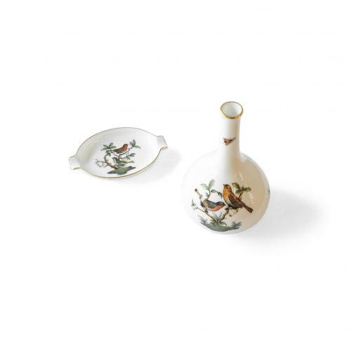 HEREND Rothschild Bird Porcelain/ヘレンド ロスチャイルド・バード ハンガリー インテリア