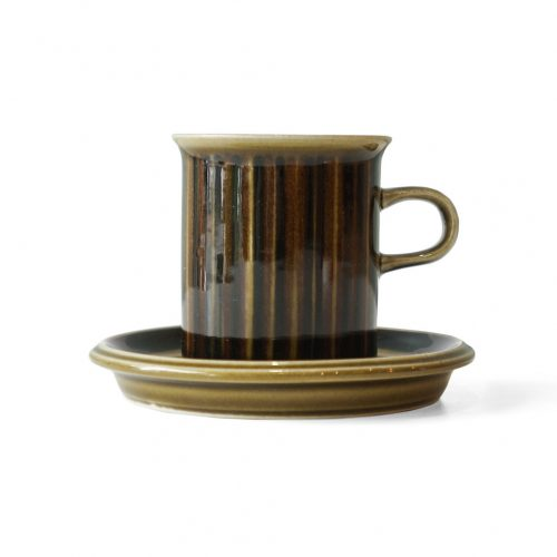 ARABIA Kosmos Coffee Cup and Saucer/アラビア コスモス コーヒーカップ&ソーサー 北欧食器 フィンランドヴィンテージ 3