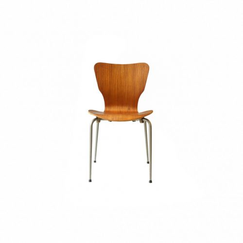 Danish Vintage Teak Plywood Stacking Chair MH Stålmøbler/デンマークヴィンテージ スタッキングチェア チーク材 プライウッド 椅子 ミッドセンチュリー モダン 北欧家具 9
