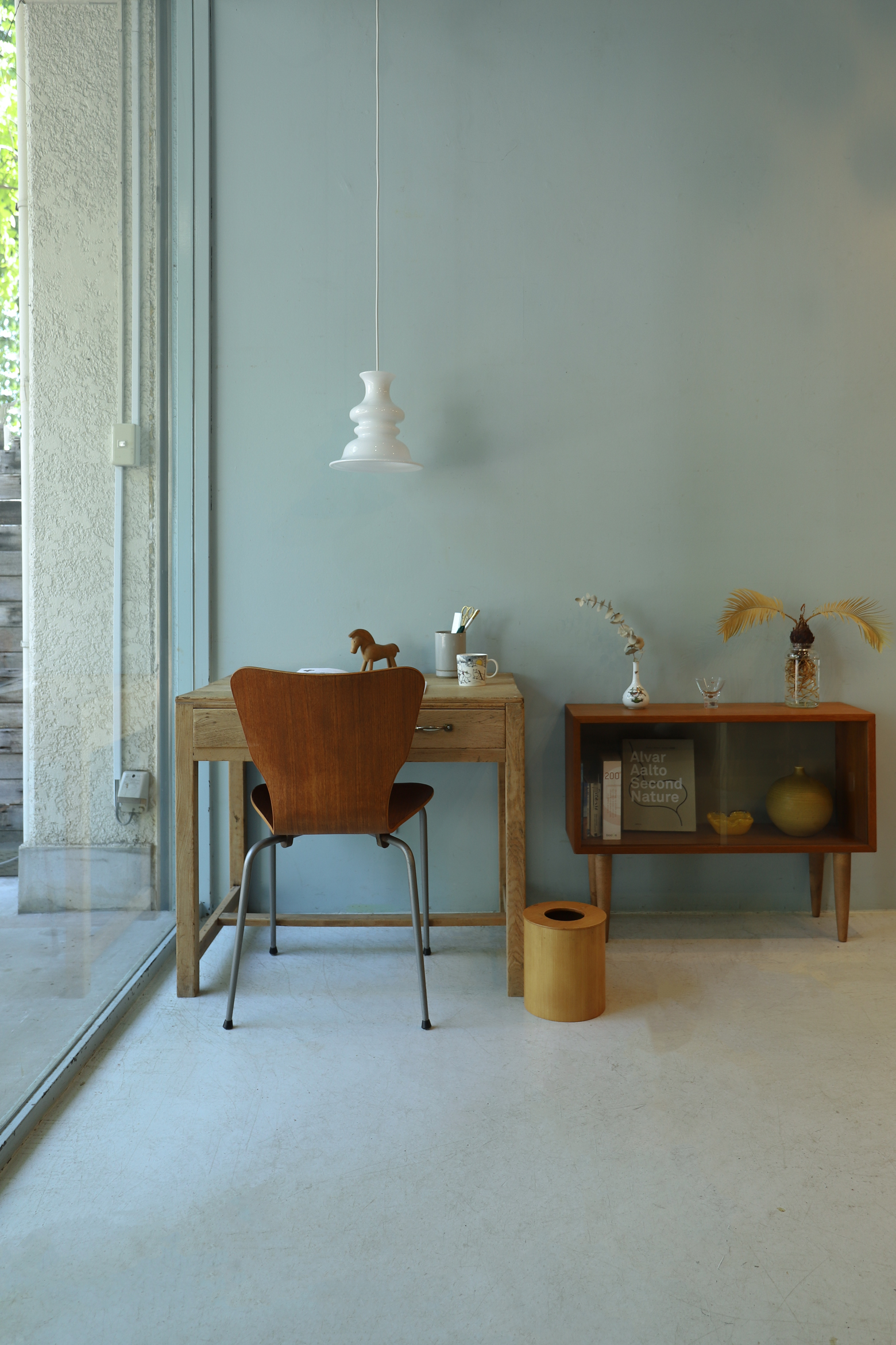 "Holmegaard Pendant Light ""Bibliotek"" Sidse Werner/ホルムガード ペンダントライト シセ・ヴェアナー ガラス 照明 デンマーク 北欧デザイン"