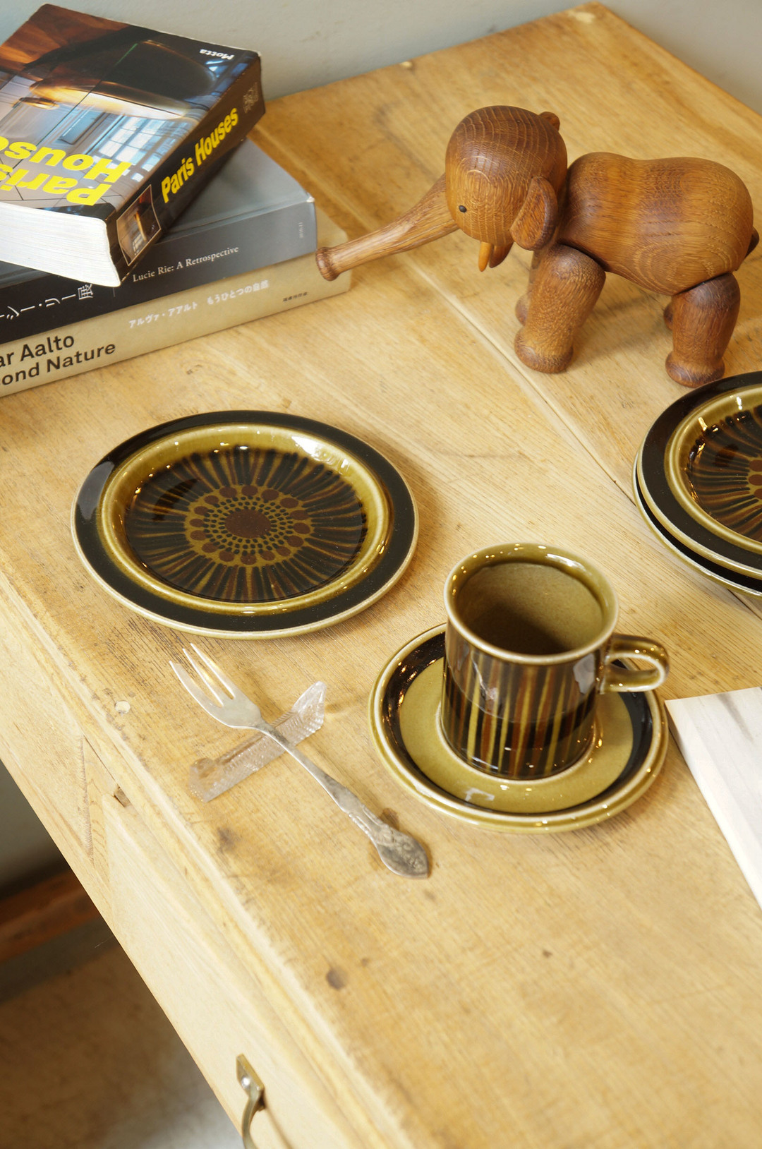 ARABIA Kosmos Plate 16cm/アラビア コスモス プレート 16cm ケーキ皿 北欧食器 フィンランドヴィンテージ