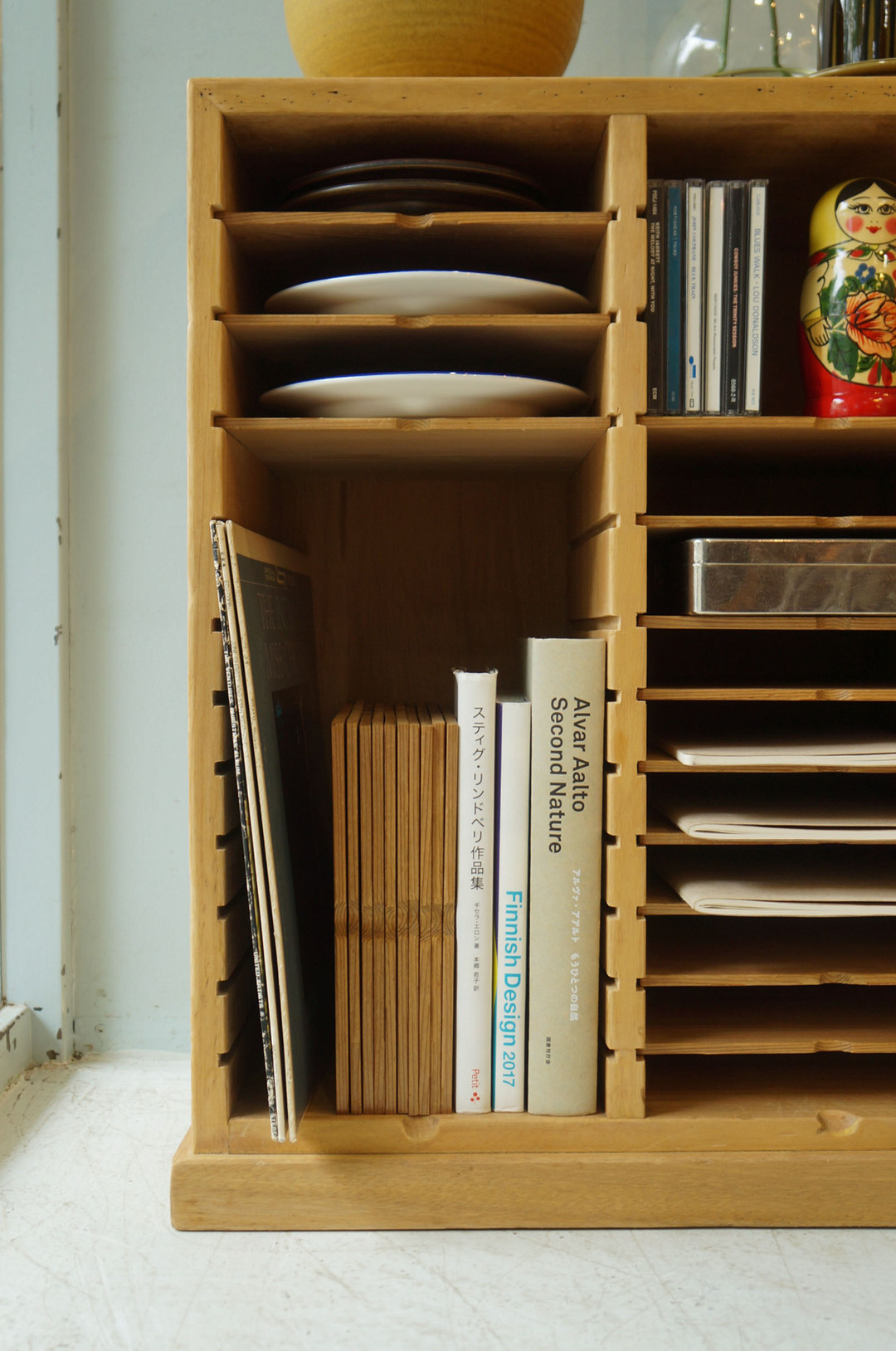Japanese Vintage Medical Record Case/ジャパンヴィンテージ カルテケース 収納ボックス レトロ 古道具 シャビーシック
