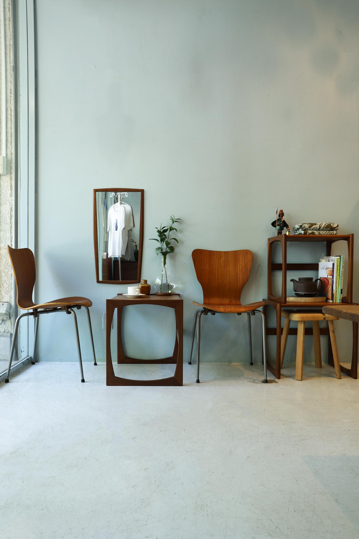 UK Vintage G-PLAN Nesting Table Quadrille/イギリスヴィンテージ ジープラン ネストテーブル サイドテーブル チーク材 ミッドセンチュリー モダン