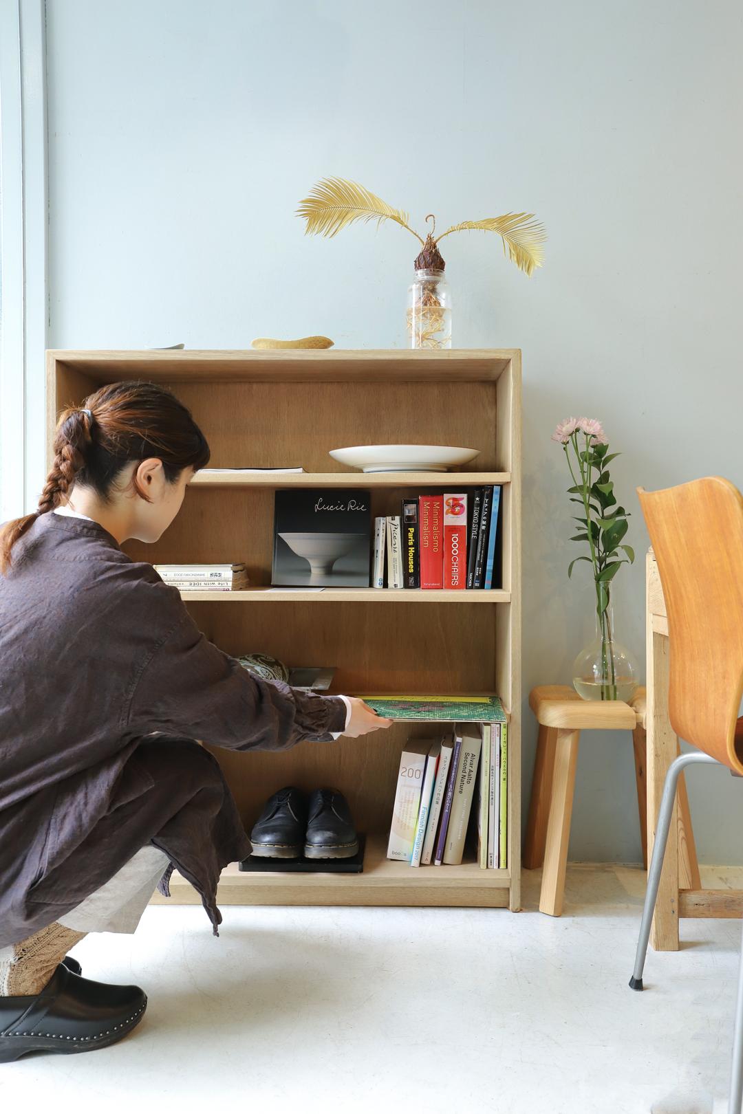Japanese Vintage Book Shelf/ジャパンヴィンテージ ブックシェルフ 本棚 靴箱 収納 シャビーシック レトロモダン